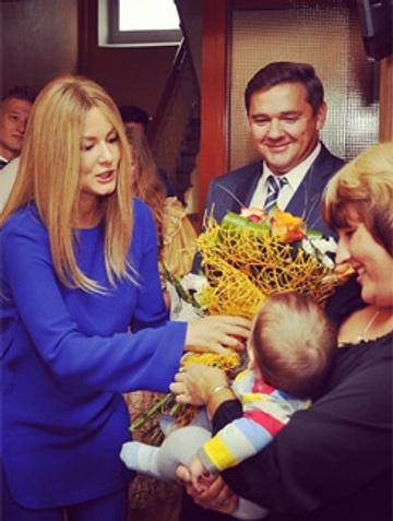 Мария Кожевникова 1 сентября 2014 года
