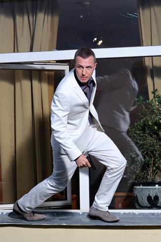 Игорю Вернику досталась роль бандита по кличке Комар