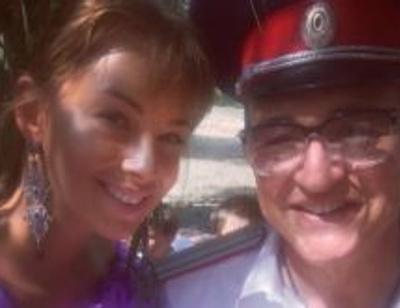 Дмитрий и Полина Дибровы посвятили младшего ребенка в казаки