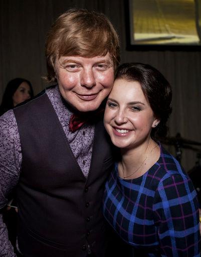 Андрей Григорьев-Аполлонов и Ирина Слуцкая