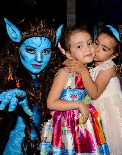 Маленькая Алла-Виктория с дочерью Ани Лорак Софией