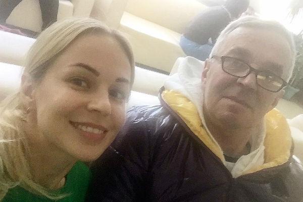 Актриса до последнего верила, что папа справится с болезнью