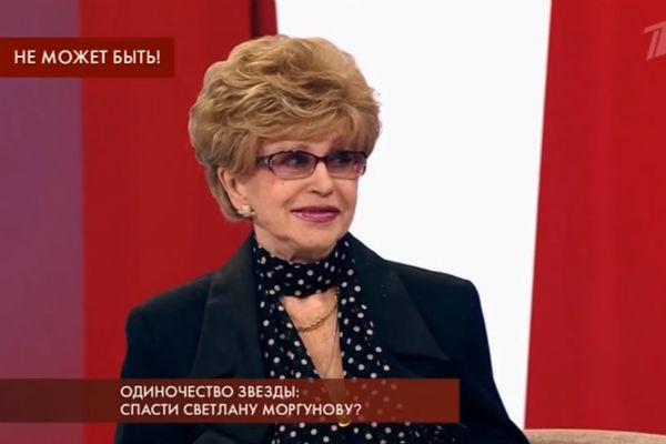 Светлана Моргунова была немало удивлена в связи с обвинениями в алкоголизме