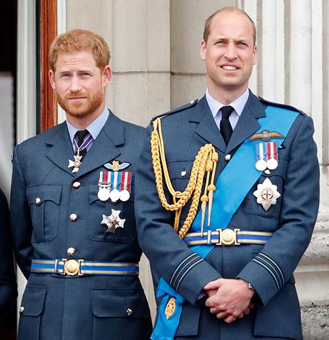 Принцы Уильям и Гарри не общаются уже 8 месяцев