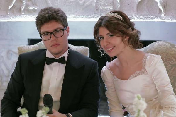 Свадьба Антона и Анны состоялась летом прошлого года