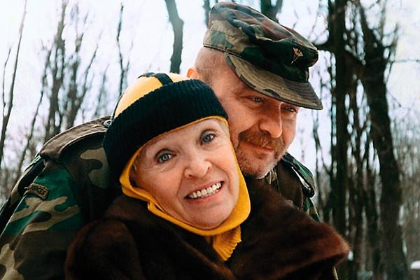 Светлана Светличная с сыном