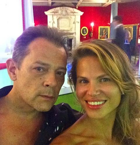 Вадим Казаченко с бывшей женой Ольгой