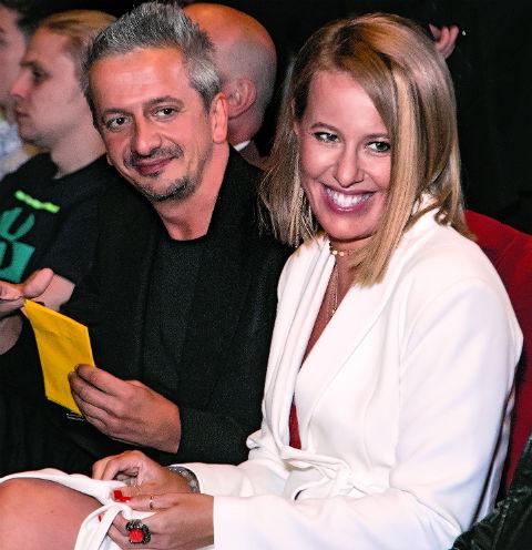 Константин Богомолов и Ксения Собчак