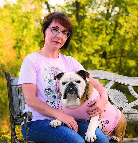 Татьяна всегда знала, если у нее в семье появится бульдог, то только с именем Карамелька