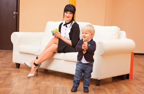 Елена: «Мой ребенок хочет видеть маму красивую, а не в бигудях и в сланцах на шерстяной носок»