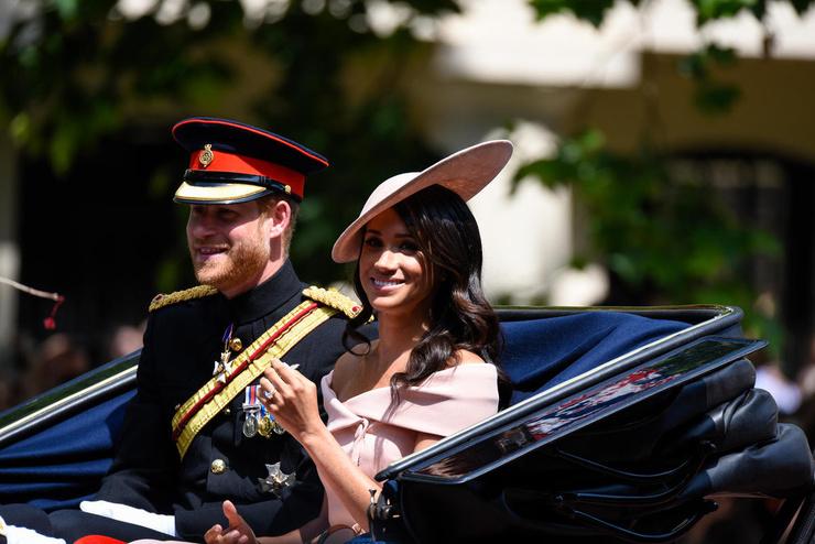 Гарри и Меган отказались от королевских полномочий в начале 2020 года