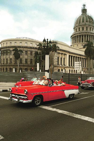 Здание Капитолия в центре Гаваны