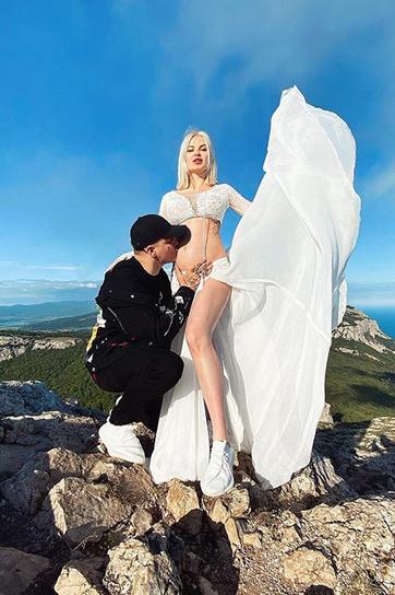Как вспоминает Даша, чтобы забраться на гору, ей пришлось помучиться