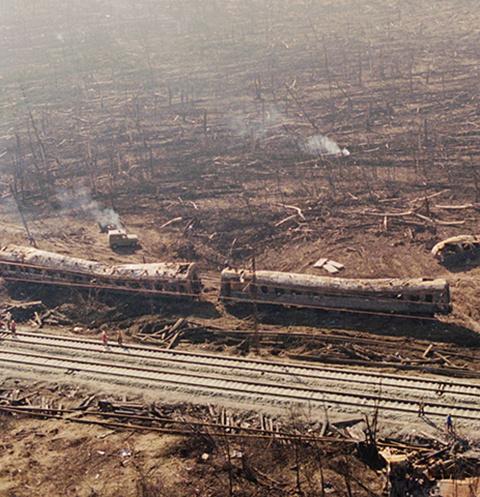 Катастрофа под Ашой стала крупнейшей железнодорожной аварией в стране