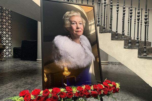 Александру Ивановну похоронили на Троекуровском кладбище