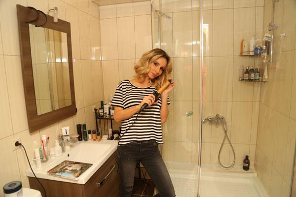 Достоинство ванной – просторная душевая