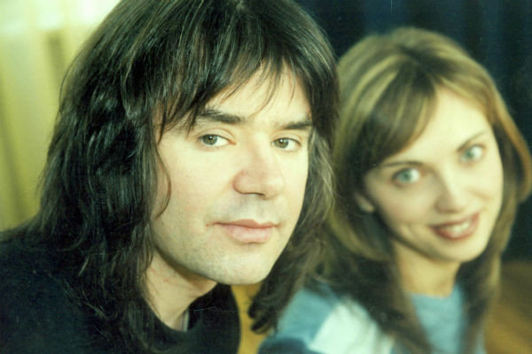 Евгений Осин с супругой