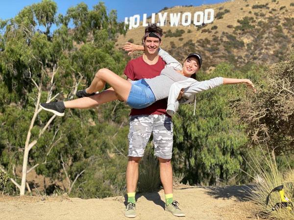 Марина и Георгий успели побывать в Америке