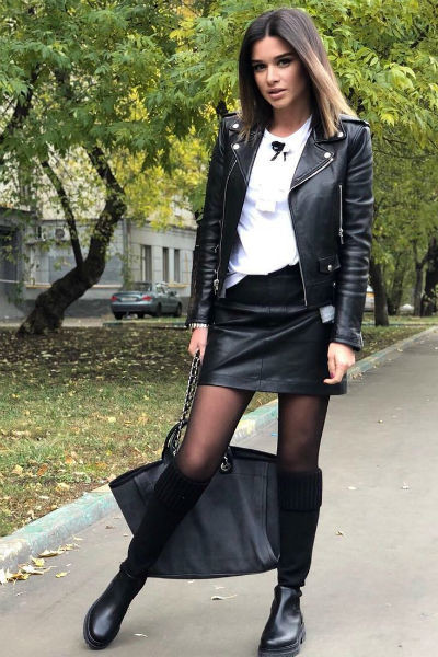 Ксения Бородина любит дерзкий стиль