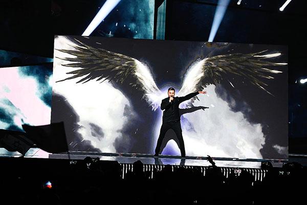 Два года назад Сергей занял на «Евровидении» третье место