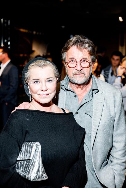 Леонид Ярмольник с женой
