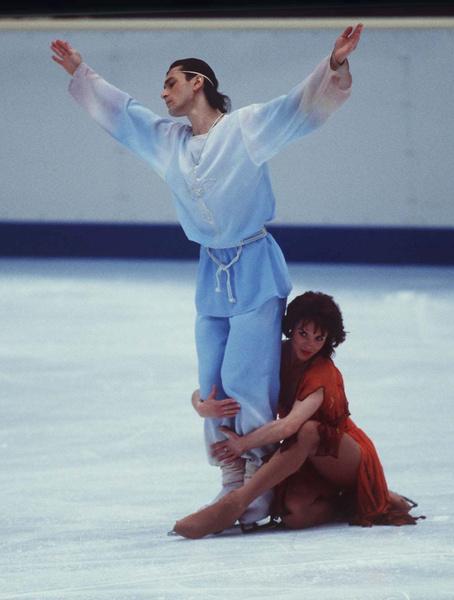 Дуэт Лобачевой с Авербухом занимал призовые места на международных чемпионатах