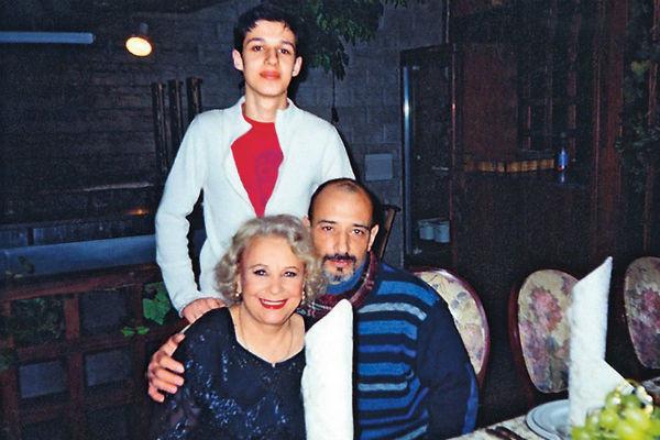 Тамара Григорьевна с сыном и внуком