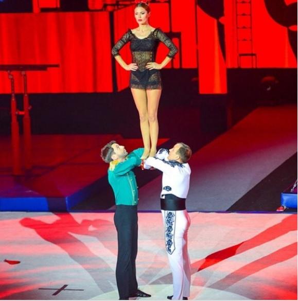 Виктория Боня на шоу «Без страховки»