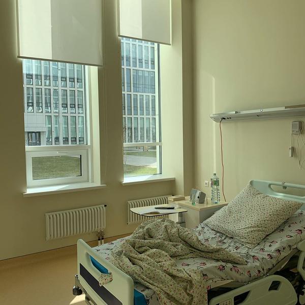 В таких условиях лежат больные в московской Коммунарке