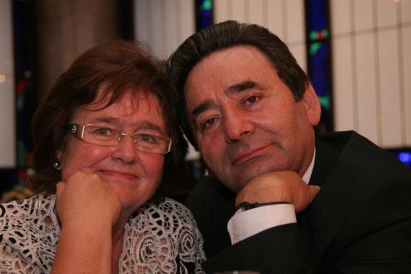 Лев Глебович с супругой Татьяной