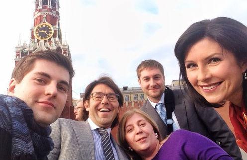 Слева направо: Дима Борисов, Наталия Галькович, Максим Шарафутдинов и Анна Павлова