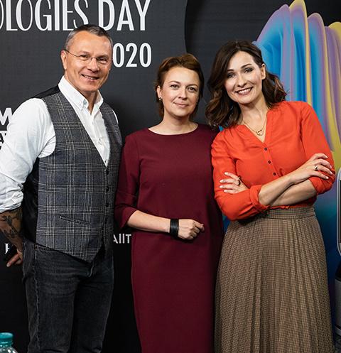 Владимир Дашевский, Наталья Бабинцева и Мария Эриль
