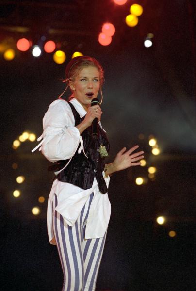 Ветлицкая признавалась, что в детстве мечтала быть то врачом, то танцовщицей, то певицей