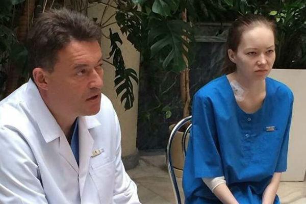 Даша проходила лечение в Москве