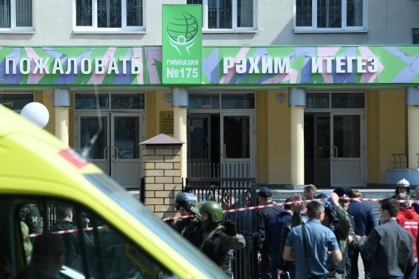 Гимназия № 175 расположена в центре Казани по улице Файзи