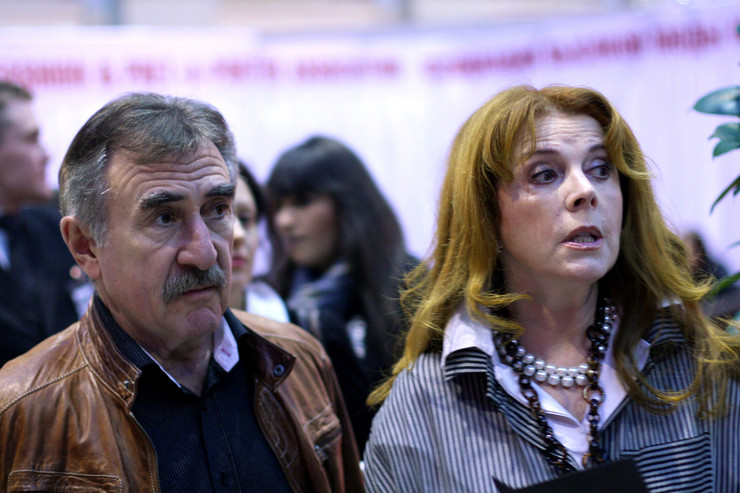 Клара Новикова часто общается с Леонидом Каневским