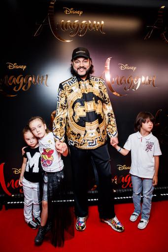 Филипп Киркоров с сыном и дочкой