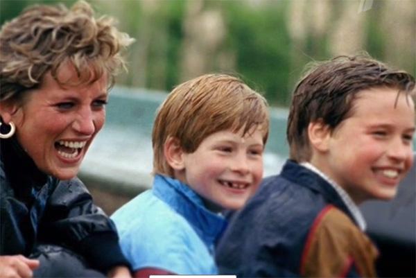 Принцесса Диана обожала похулиганить со своими мальчишками