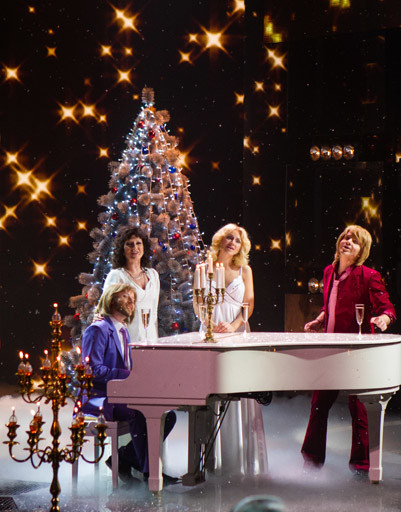 Группа ABBA: Жасмин, Глеб Матвейчук, Витас и Натали