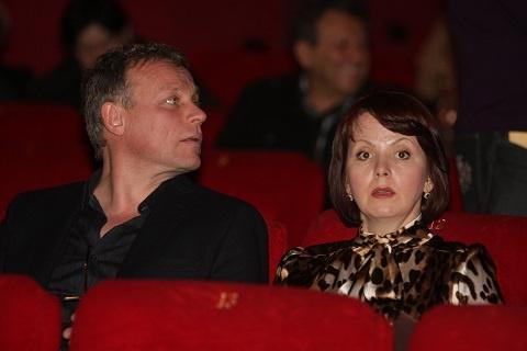 Сергей Жигунов с женой