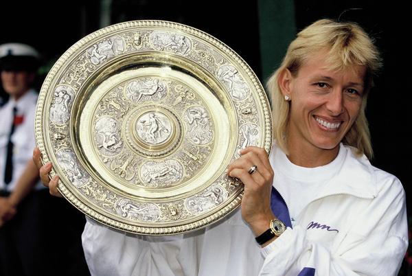 Мартина до сих пор считается самой успешной теннисисткой Чехии