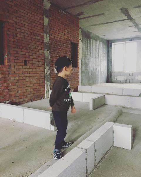 Сын Валерии Ланской в новой квартире