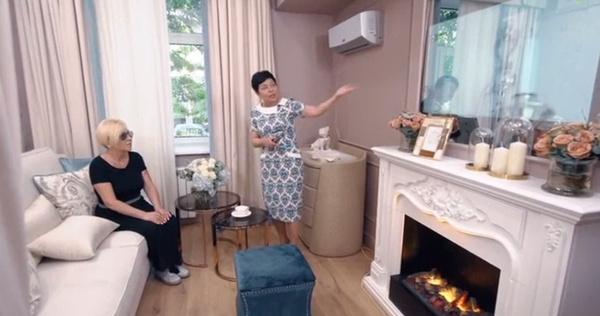 Камин и телевизор в зеркале: как выглядит квартира Валентины Легкоступовой после ремонта