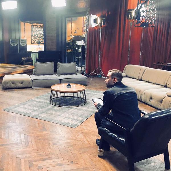 Возможно, в этой студии будет проходить новое шоу Шепелева