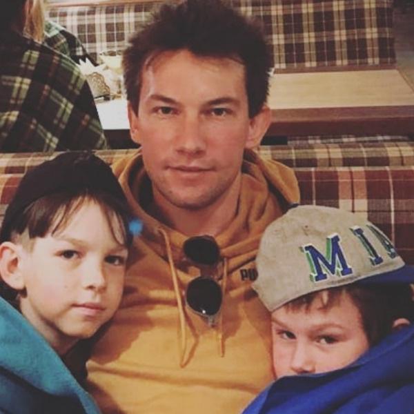 Кирилл обожает сыновей