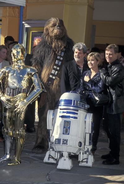 Команда, работавшая над фильмом «Звездные войны»