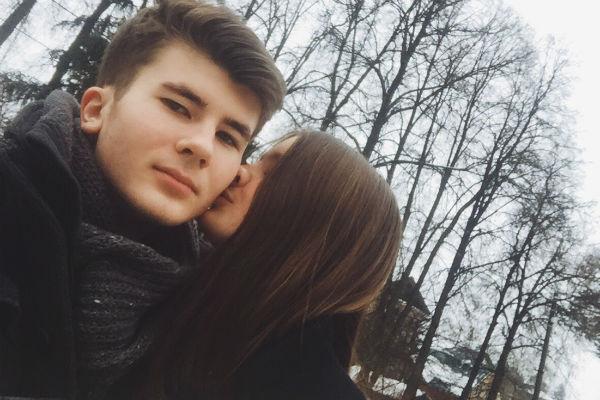 Александра Стриженова и Антон Чуреков
