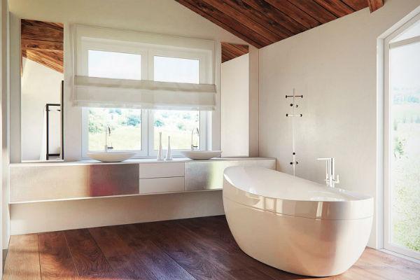 В особняке будет не только ванная комната, но и хаммам