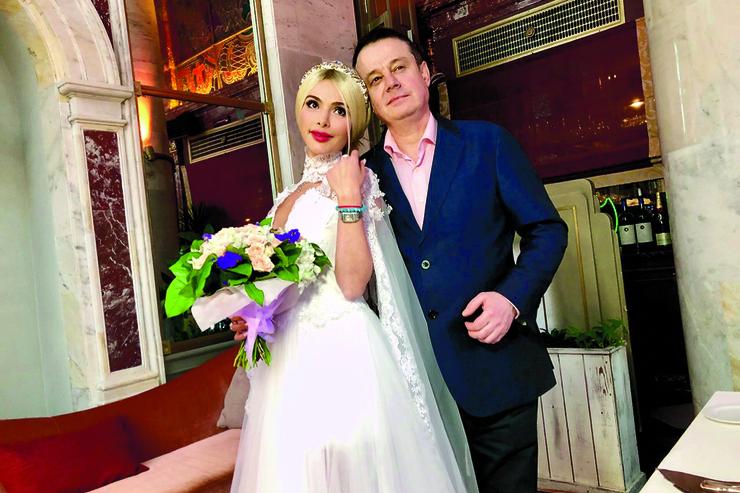 Алена Кравец с мужем Русланом