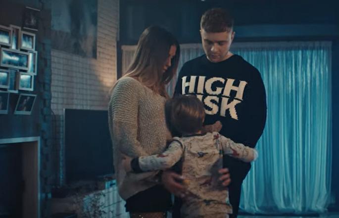 В клипе у Нюши и Крида есть сын!